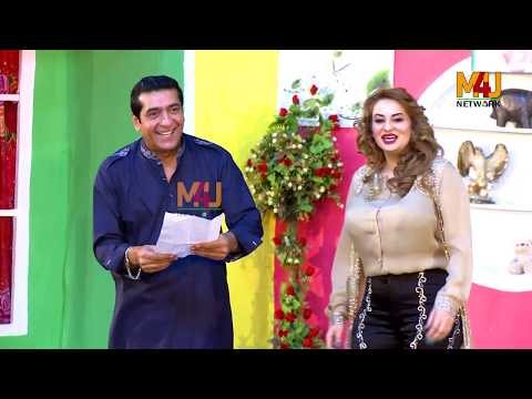 Zafri Khan And Iftikhar Thakur Stage Drama Boli Pyaar Di Afreen Khan Comedy Clip 2019