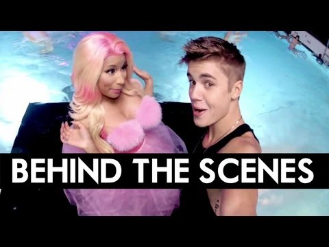 """(EXCLUSIVE) Justin Bieber's """"Beauty and a Beat"""" ft. Nicki Minaj - Behind the Scenes [DS2DIO]"""