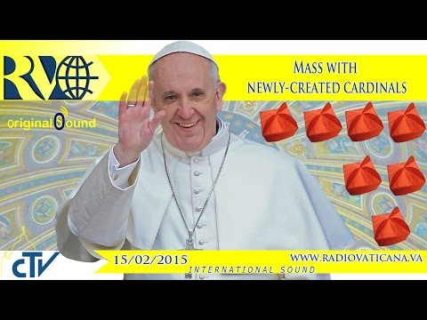 Holy Mass with new Cardinals - 2015.02.15