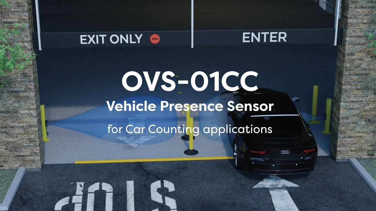 OPTEX Vehicle Sensors for Car Counting