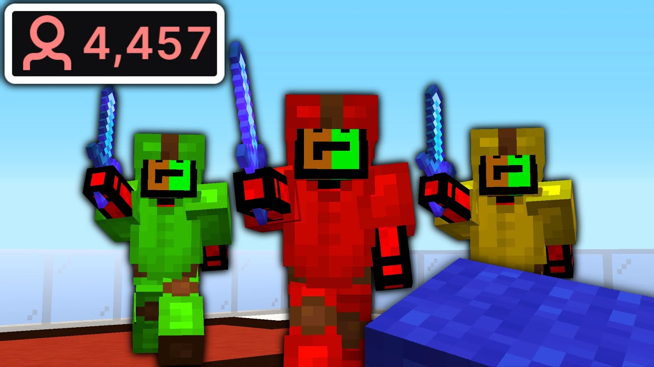 I Let My Stream Target Me in BedWars... This Is What Happened.