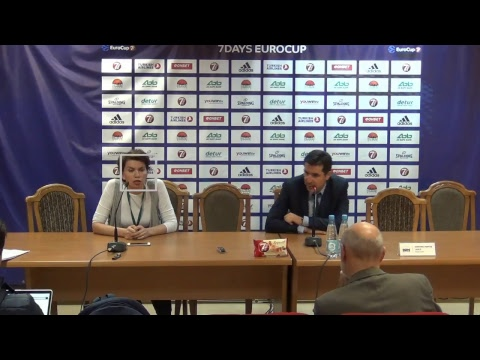 Press-conference Round 5 UNICS - Fiat Turin 08.11.2017