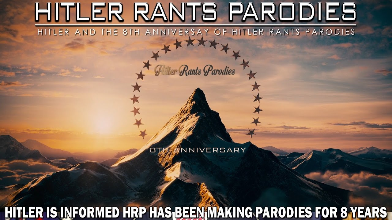 Hitler is informed HRP has been making parodies for 8 years