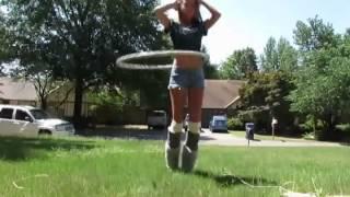 Хулахуп - танцы с обручем