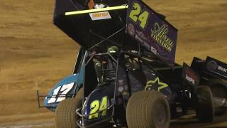 world of outlaws sprintcar race placerville california part 2