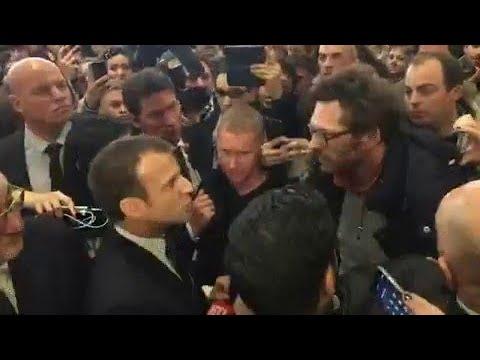 Salon de l'agriculture: une visite en demi-teinte pour Emmanuel Macron