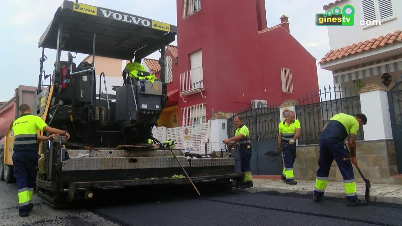 La Campaña Municipal de Asfaltado prosigue este lunes en nuevas calles de la localidad