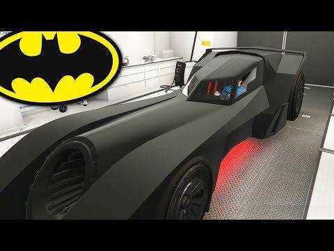 BATMOBILE IN GRAND THEFT AUTO ONLINE! (Batman DLC)