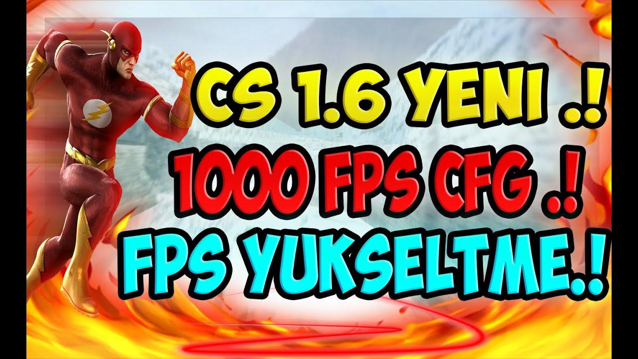 CS 1.6 kasma sorunu 100 fps garanti