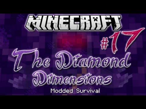 """IRON QUEST"" | Diamond Dimensions Modded Survival #17 | Minecraft"