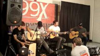 Angels and Airwaves- Everything's Magic-Live Acoustic 10/27/08 Atlanta Georgia
