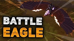 Crystal Battle Eagle Mount Overview! Coolest Mount!? | Albion Online (Exotic Mount)