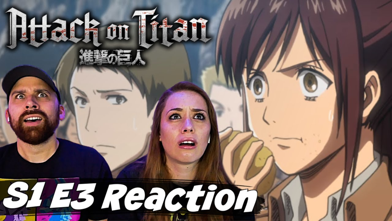 "Attack on Titan S1 E3 ""A Dim Light Amid Despair - Humanity's Comeback: Part 1"" Reaction & Review"
