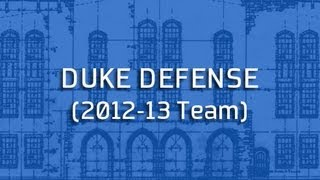 Blue Print: Duke Defense