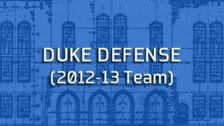 Blue Print: Duke Defense