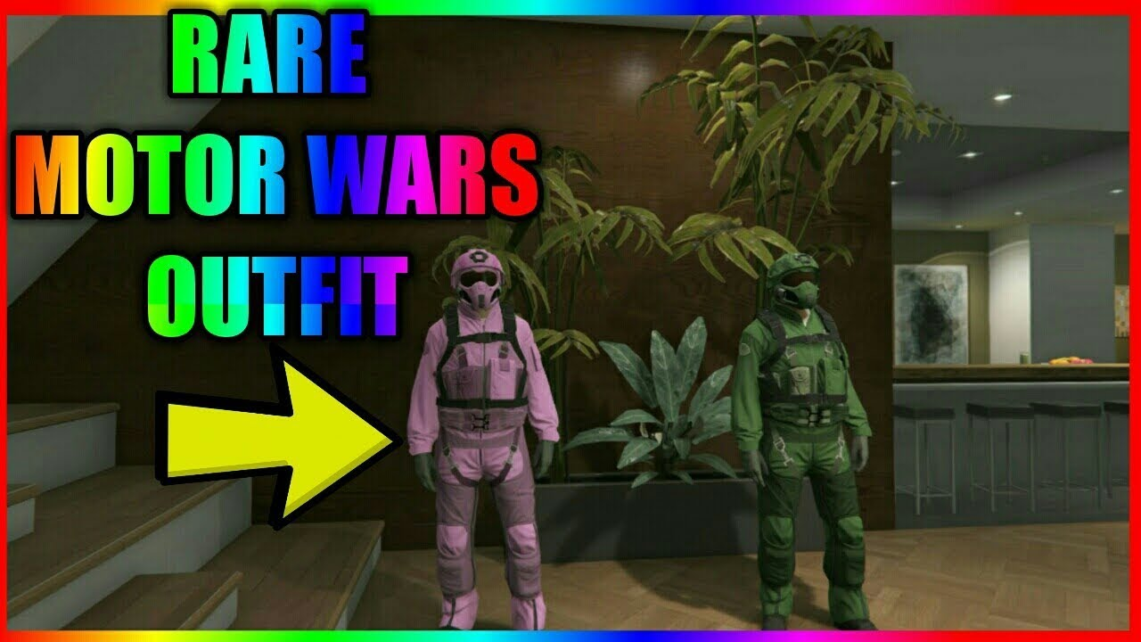 How to get the rare motor wars outfit *NEW* || GTA 5 [PATCH 1.41]
