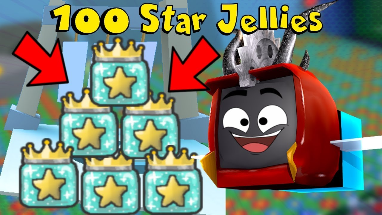 I DONATE OVER 100 STAR JELLY TO WIND SHRINE In Roblox Bee Swarm Simulator *INSANE*