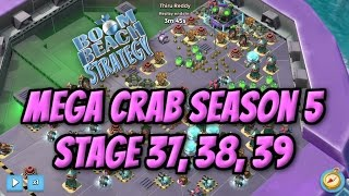 Video Boom Beach Mega Crab Season 5 - Stage 37, Solo finish of Stage 38 and 39 download MP3, 3GP, MP4, WEBM, AVI, FLV Juni 2018