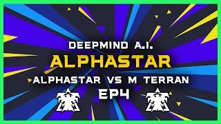 AlphaStar vs Master Terran Ep4 [TvT] Deepmind A.I. Starcraft 2