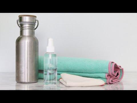 LOW WASTE GYM ESSENTIALS   + 100% Natural DIY Cleaner
