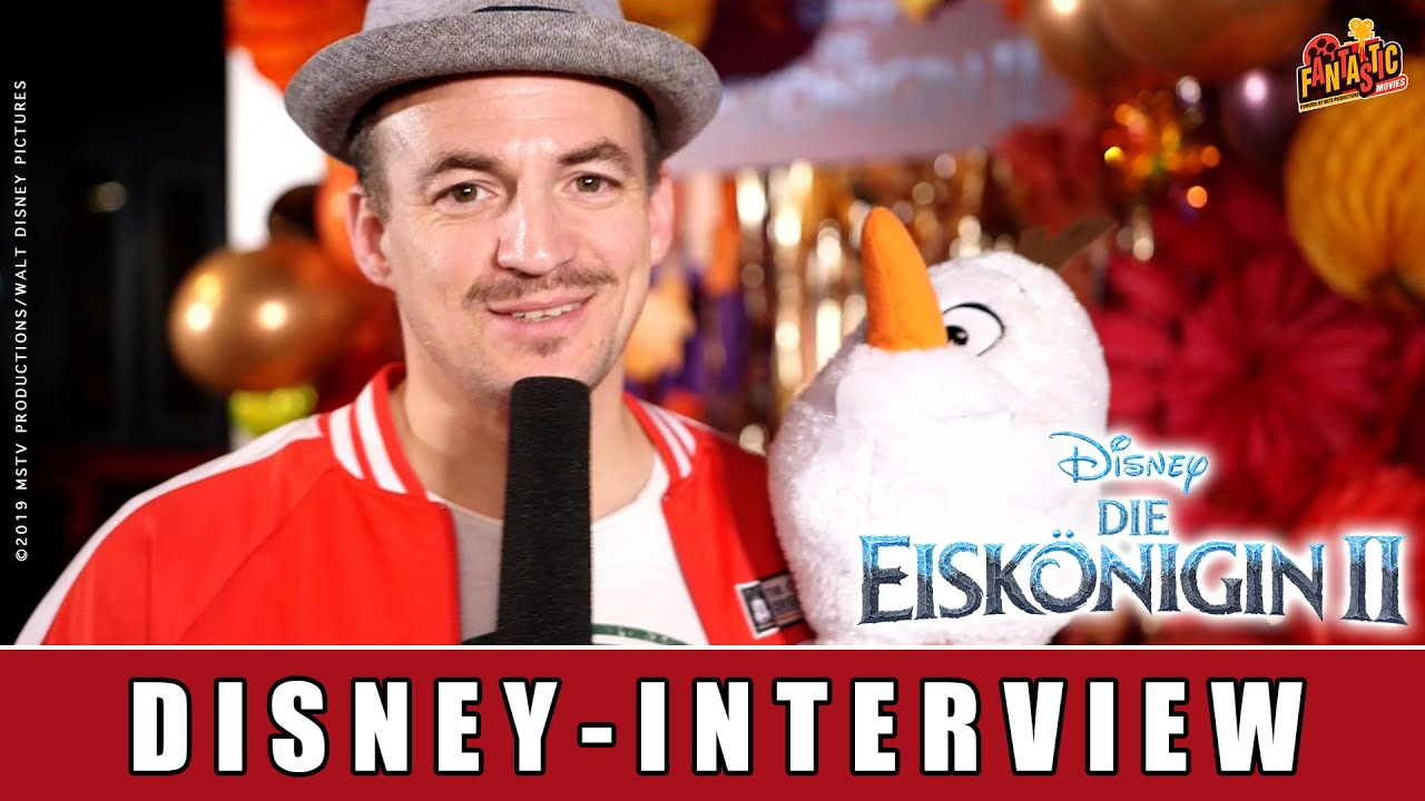 Die Eiskönigin 2 - Disney-Interview | Mark Forster | Lara Loft