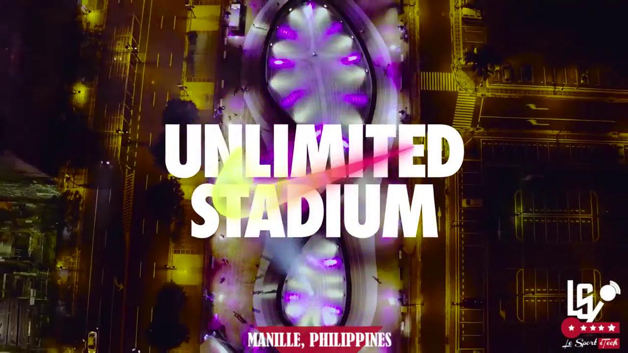 Nike running Unlimited Stadium, stade digital
