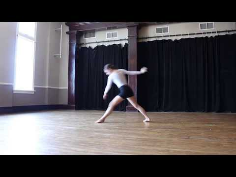 Sarah's first full self-choreographed modern piece! (Music Salut d'amor, Op. 12)