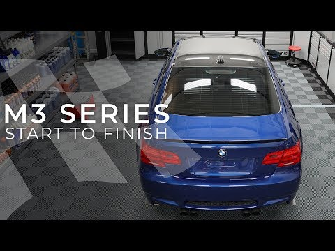 The Full E92 M3 Paint Correction Process in 20 Minutes