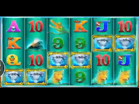 Raging Rhino HUGE WIN 6 Diamonds - Real Money!!!
