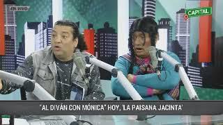 """La paisana Jacinta en """"el diván con Mónica Cabrejos"""""""