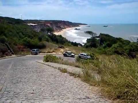 Praia De Brasil Dos Penhascos Foto de Stock - Imagem de