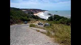 Praia de Tambaba, PB - Chegada...