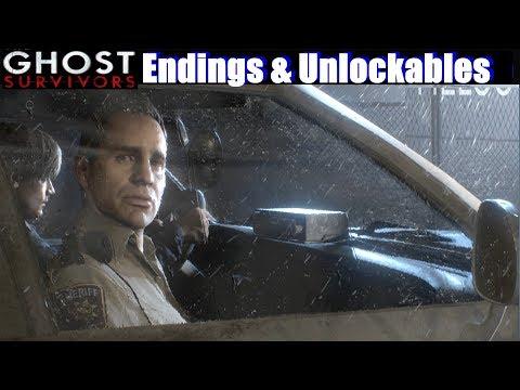 RE2 Ghost Survivors Endings & Records - Resident Evil 2 Remake 2019