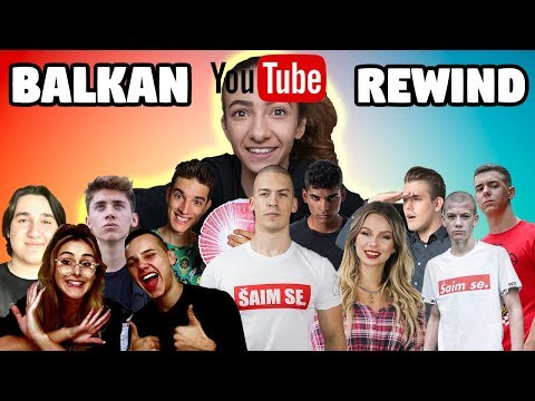 BALKAN YOUTUBE REWIND 2018 🎉 | Gloria Berger & prijatelji
