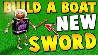 I GOT A *SECRET* SWORD in Build a boat!   ROBLOX