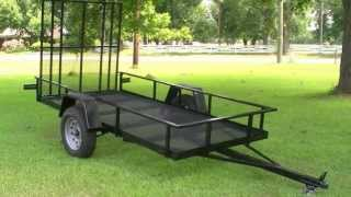 Everlast Trailer Project Build Pt 1:  How To Build A Small Utility Trailer