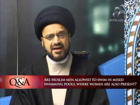 Are Muslim men allowed to swim in mixed swimming pools? | General Q&A