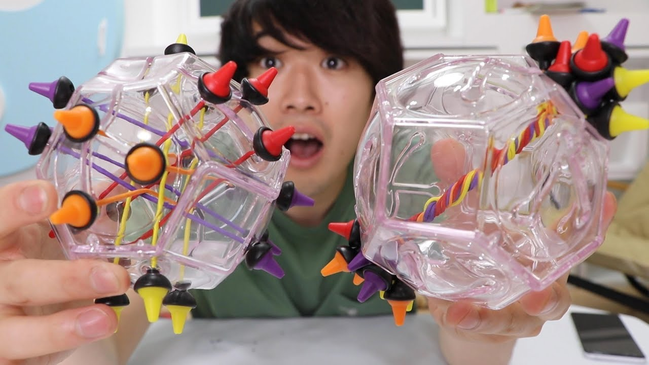 【海外で流行】絡まったヒモを解いていくパズルが斬新で面白かった!!