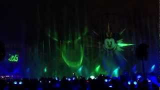 New Years Eve special World of Color at Disney California Adventure