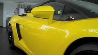 2009 Lamborghini Gallardo LP560-4 Spyder Videos