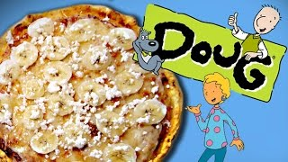 How to Make BANANA PIZZA from Doug! Feast of Fiction S6 Ep1