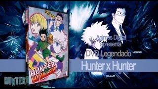 BOX DVD Hunter X Hunter - AMV - Melhores Momenntos AnimesDigital