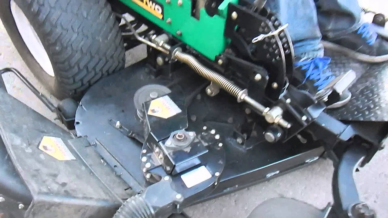 maxresdefault lesco z two zero turn lawn mower youtube lesco wiring diagram at crackthecode.co