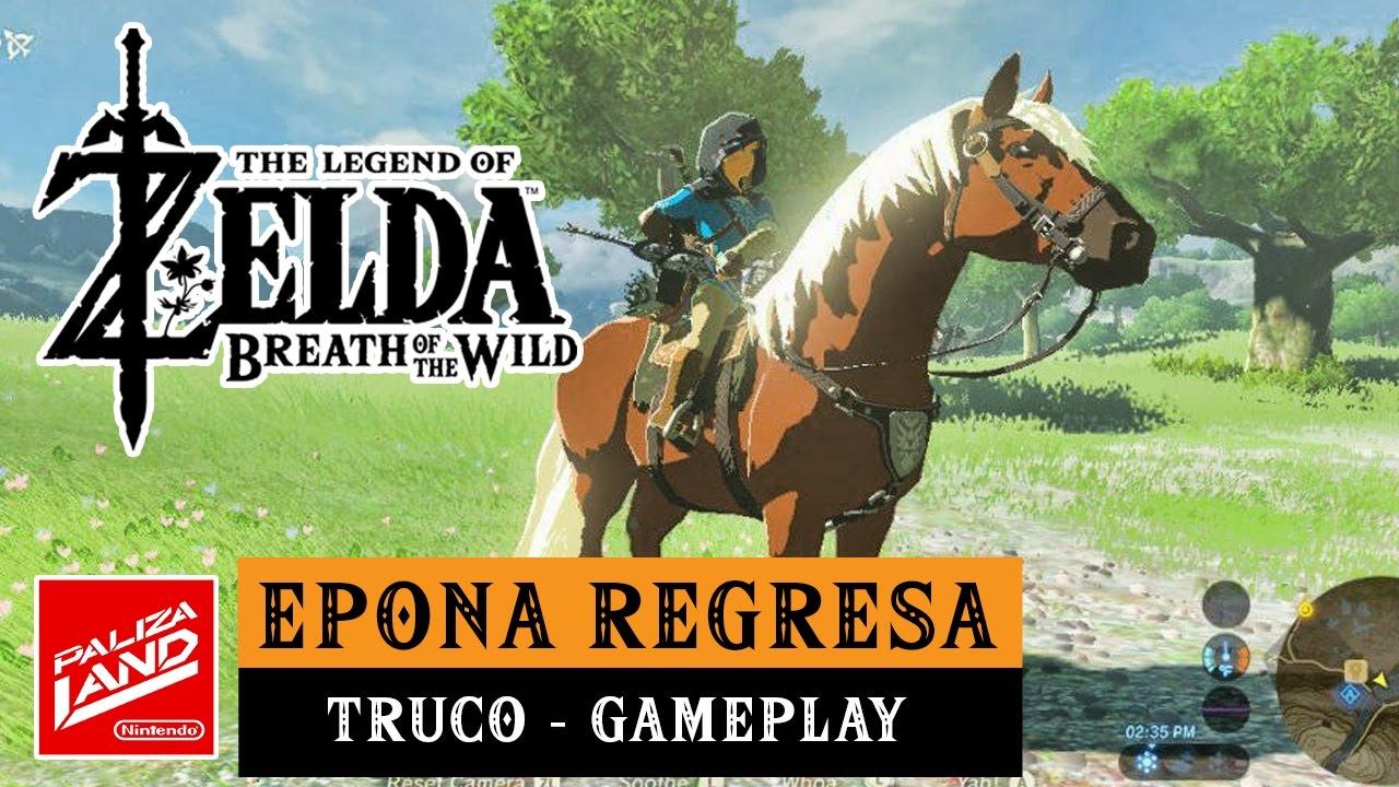 9da1eb212f TRUCO Cómo conseguir a Epona en Zelda: Breath of the Wild - YouTube
