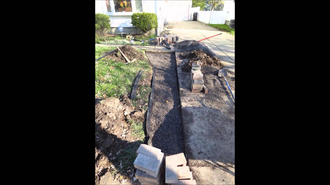 How To Lay Stone Walkway