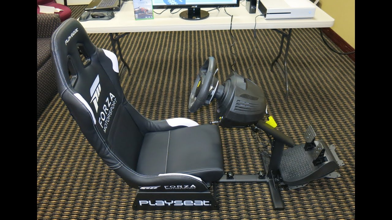 Forza Horizon 2 Gaming Chair Desk Gold Coast Playseat Unboxing And Assembly Youtube