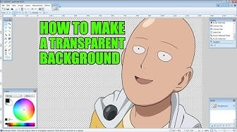 How to Make an Image Background Transparent Using Free Program [Paint.Net Tutorial]