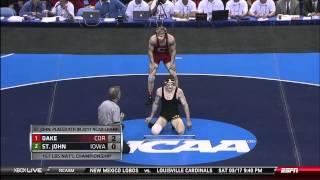 NCAA Wrestling National Championships Division 1 Kyle Dake vs  Derek St John