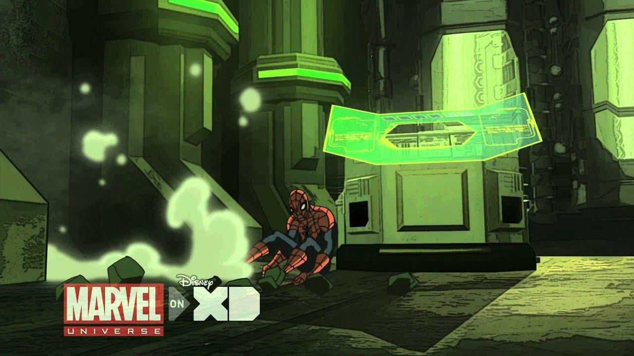 Marvel's Ultima... Ultimate Spider Man Web Warriors Episode 1