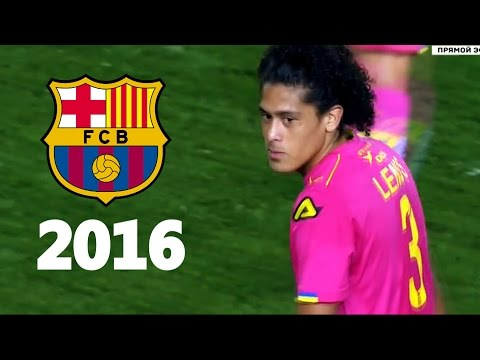 Mauricio Lemos - Ultimate Defending Skills 2016 - Welcome to FC Barcelona - HD
